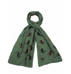 An assortment of 3 stylish stag scarves. The perfect way to stay cosy this season.