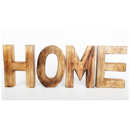 Or0306a home 3d wooden letters sign 32761 homeware for 3d wooden alphabet letters