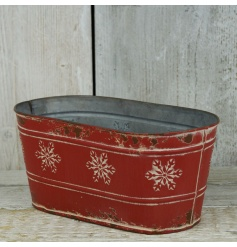Plant up those festive bulbs, or use as the base for your hampers. This charming rustic planter is stylish and versatile