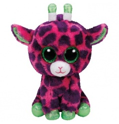 Keep your little ones entertained with this adorable purple giraffe Beanie Baby from the popular TY range.