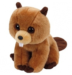 Keep your little ones entertained with this adorable Richie Beaver Beanie Baby from the popular TY range.
