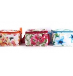 3 beautifully patterned cooler bags