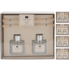 These modern styled and simplistic reed diffusers will set well in any house