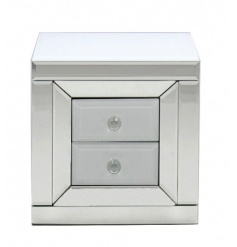 A fine quality two-drawer storage unit. Ideal for storing jewellery and other items safely.