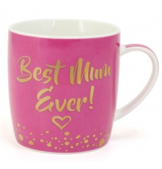 This pink mug with its gold script wording is a great gift to give this mothers day!