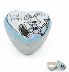 A gorgeous heart shaped keepsake trinket with the adorable little miracles design.