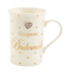 A stunning ceramic mug in the popular Mad Dots design, complete with a heart shaped gem.