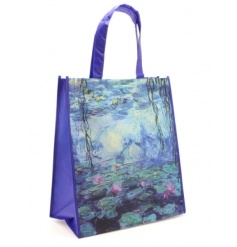 A fine quality shopping bag with the much loved Water Lily design by Monet.