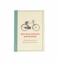 Handy pocket sized notebook with our charming Bicycle design. Perfect for making lists and scribbling down notes.