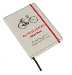 A fine quality journal with document pocket, bookmark ribbon and security band.