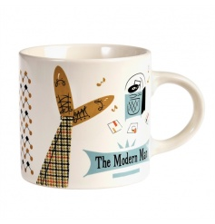 A contemporary style mug from the Modern Man range.