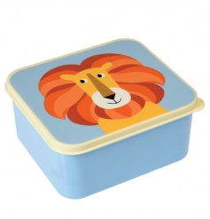 This cute lion lunch box is sure to be loved by kids. Part of the Colourful Creatures range