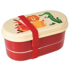 Can't decide which Colourful Creature is your favourite?  This Bento Box has them all! Perfect for lunch on the go
