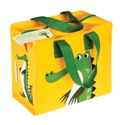 A stylish Charlotte lunch/storage bag in a crocodile design from the popular Colourful Creatures range.