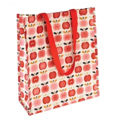 A stylish and practical shopper bag in the popular Vintage Apple range. Made from recycled plastic bottles!