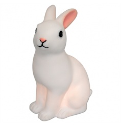 Sleep well with this rabbit shaped LED night light with on/off switch. Perfect for little ones.