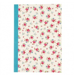 A pretty A5 notebook with lined paper in the popular La Petite Rose design.