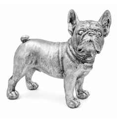 From the stylish Silver Art Leonardo Range is this quirky distressed looking French Bulldog