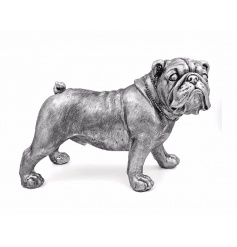 From the stylish Silver Art Leonardo Range is this quirky distressed looking Bulldog