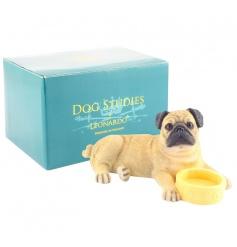 Pug With Bowl