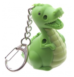 An adorable LED dinosaur shaped key ring. A great pocket money priced item.