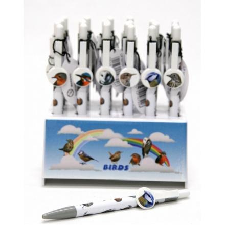 British Bird Pens In Display
