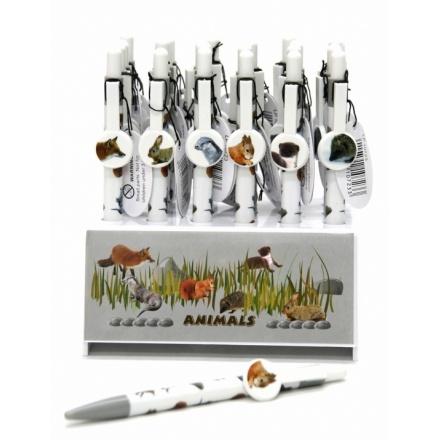British Wildlife Pens In Display