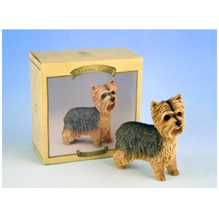 Yorkshire Terrier Dog Figurine