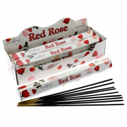 Stamford Red Rose Incense Sticks