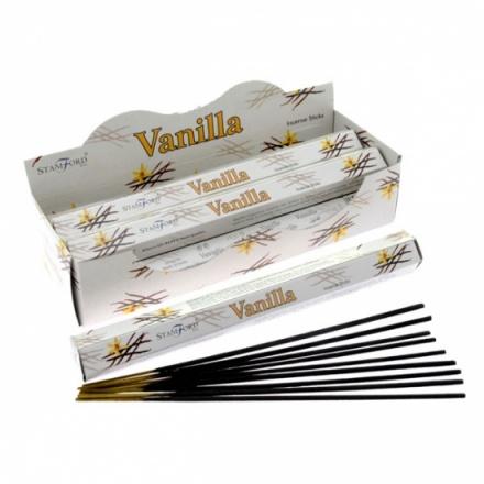 Stamford Vanilla Hex Incense Sticks