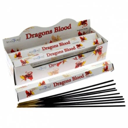Stamford Dragons Blood Hex Incense Sticks
