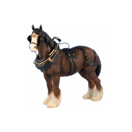 Shire Horse 8in