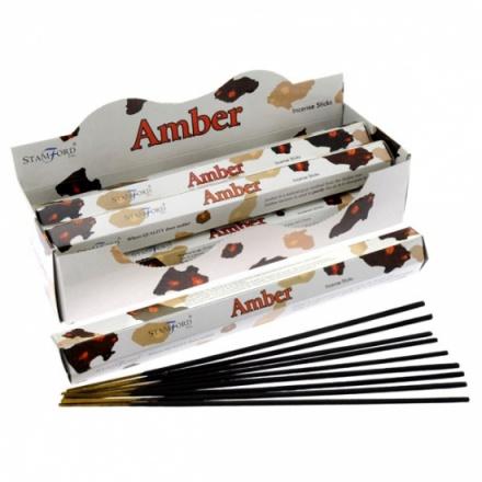 Stamford Amber Incense Sticks