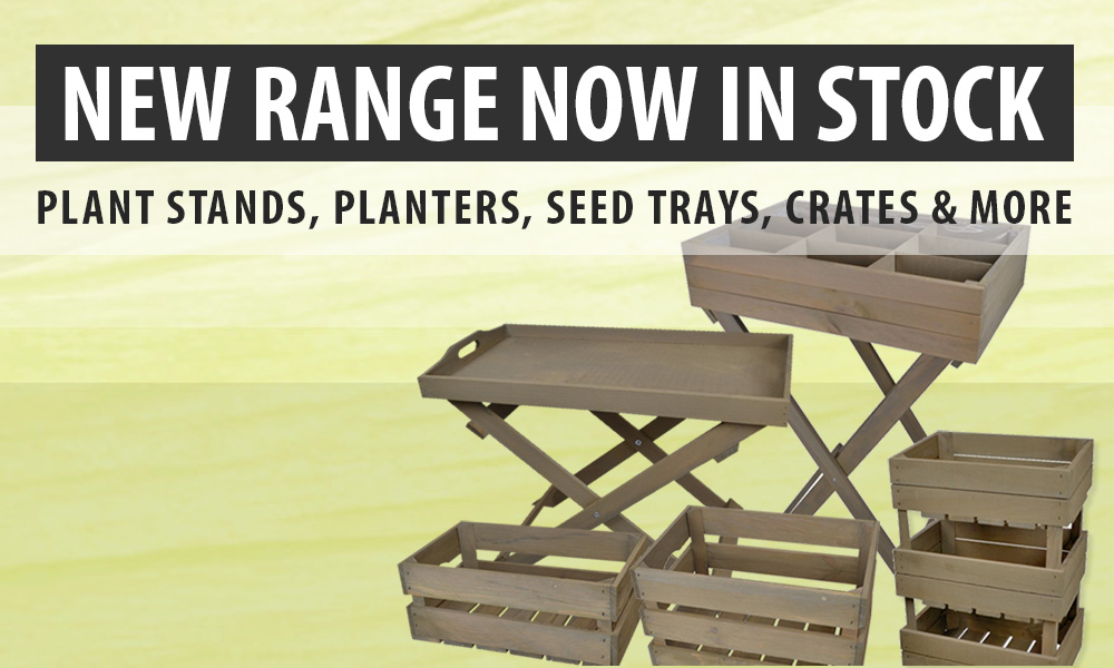New Range of Planters, Plant Stands & More Now In Stock